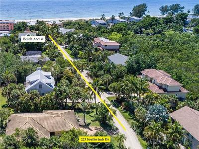 Sanibel Single Family Home For Sale: 223 Southwinds Dr