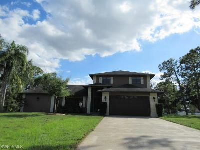 North Fort Myers Single Family Home For Sale: 17861 Wellswood Rd