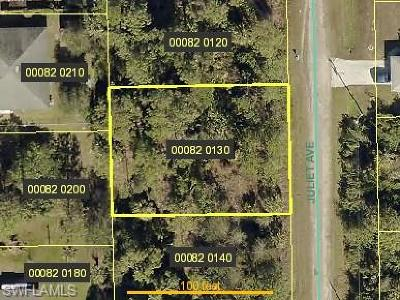 Fort Myers Residential Lots & Land For Sale: 6015 Juliet Ave