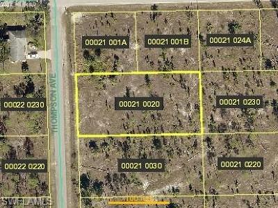 Lehigh Acres Residential Lots & Land For Sale: 920 Thompson Ave