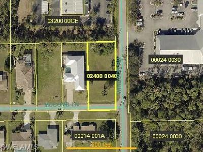 Bonita Springs Residential Lots & Land For Sale: 3542 McComb Ln