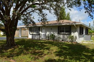 Naples Single Family Home For Sale: 1249 Hilltop Dr