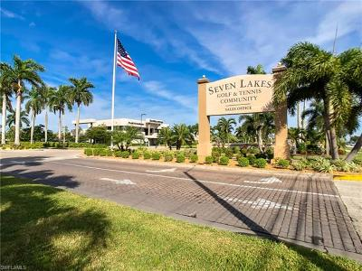 Fort Myers Condo/Townhouse For Sale: 1724 Pine Valley Dr #206