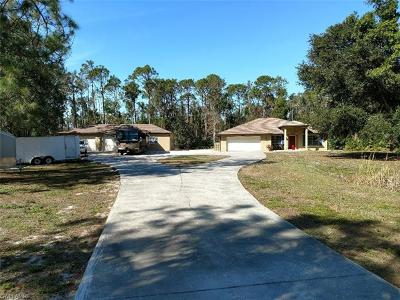 Fort Myers Single Family Home For Sale: 6601 Broken Arrow Rd
