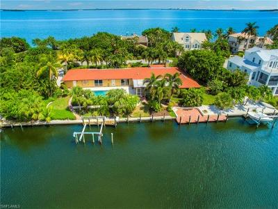 Captiva, Sanibel Single Family Home For Sale: 1525 San Carlos Bay Dr