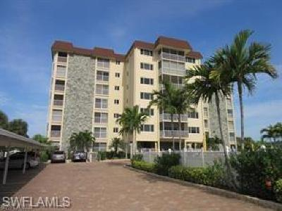 Fort Myers Beach Condo/Townhouse For Sale: 6900 Estero Blvd #301