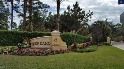 Bonita Springs Residential Lots & Land For Sale: 27133 Serrano Way