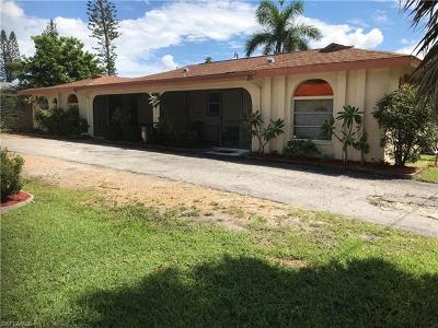 Cape Coral Multi Family Home For Sale: 4709 Palm Tree Blvd #1-4