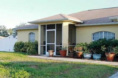 Lehigh Acres Single Family Home For Sale: 5237 Benton St
