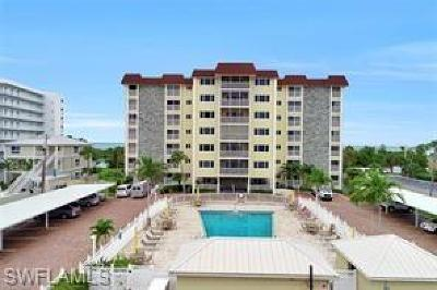 Fort Myers Beach Condo/Townhouse For Sale: 6900 Estero Blvd #106
