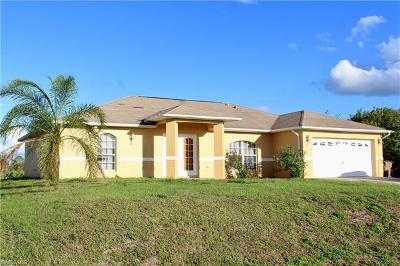 Lehigh Acres Single Family Home For Sale: 2502 Ann Ave N