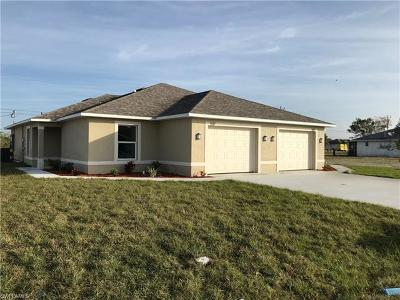 Cape Coral Multi Family Home For Sale: 1629/1631 SW 34th St
