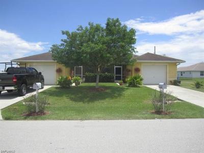 Cape Coral Multi Family Home For Sale: 532 SE 7th St