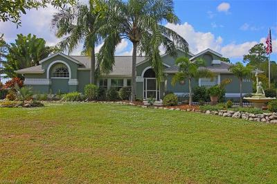 Punta Gorda Single Family Home Pending With Contingencies: 9241 Sweden Blvd