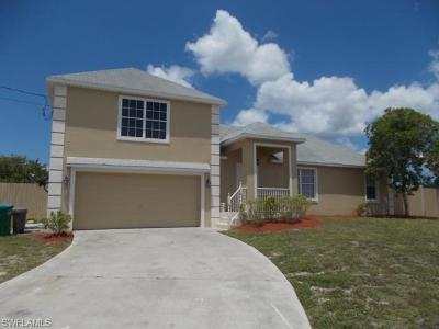 Cape Coral Single Family Home For Sale: 3202 SW 5th Ave