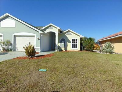 Cape Coral Single Family Home For Sale: 1307 SE 10th Ter