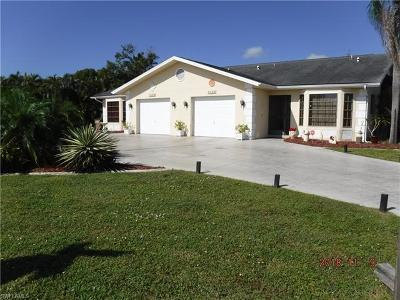 Cape Coral Multi Family Home For Sale: 4836/4838 Marine Dr