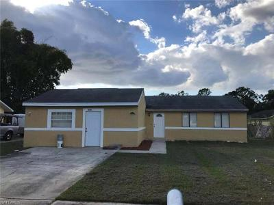 Fort Myers Single Family Home For Sale: 826 Jarmilla Ln