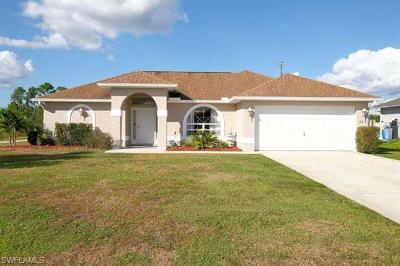 Lehigh Acres Single Family Home For Sale: 3116 14th St SW