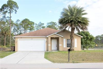 Lehigh Acres Single Family Home For Sale: 1600 Williams Ave