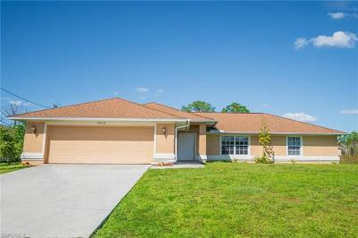 Lehigh Acres Single Family Home For Sale: 3312 43rd St SW