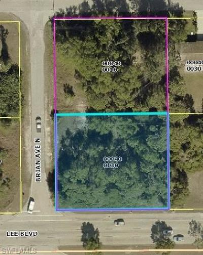 Lehigh Acres Residential Lots & Land For Sale: 3812 Lee Blvd