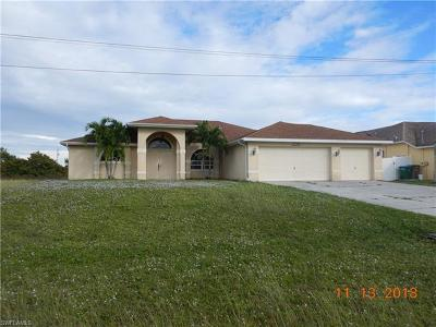 Cape Coral Single Family Home For Sale: 2203 NW 9th Pl