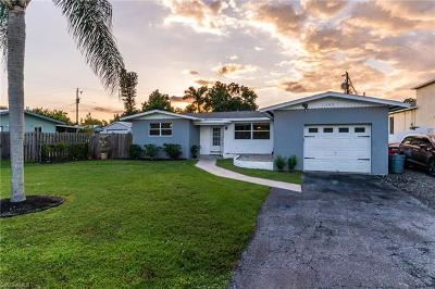 North Fort Myers Single Family Home For Sale: 1395 Pine Ave