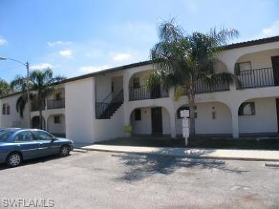 Lehigh Acres Condo/Townhouse For Sale: 608 Gerald Ave #214