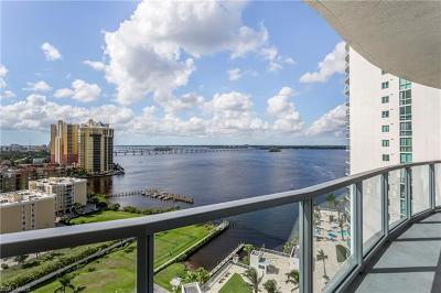 Fort Myers Condo/Townhouse For Sale: 3000 Oasis Grand Blvd #1704
