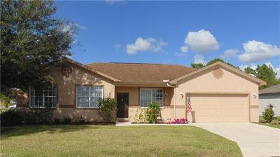 Lehigh Acres Single Family Home For Sale: 705 Evening Shade Ln