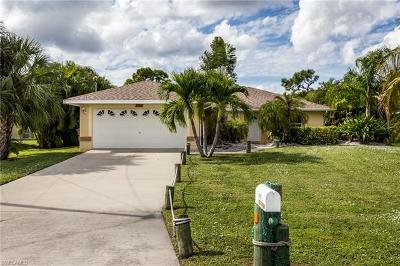 Charlotte County, Collier County, Desoto County, Glades County, Hendry County, Lee County, Sarasota County Single Family Home For Sale: 3112 SW 16th Pl