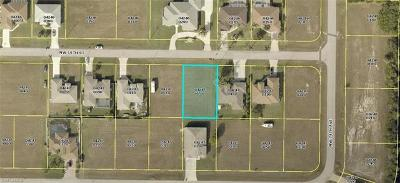 Charlotte County, Collier County, Desoto County, Glades County, Hendry County, Lee County, Sarasota County Residential Lots & Land For Sale: 3412 NW 15th St