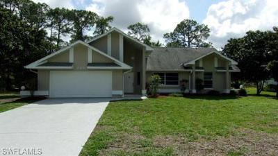 Lehigh Acres Single Family Home For Sale: 220 Hamilton Ave