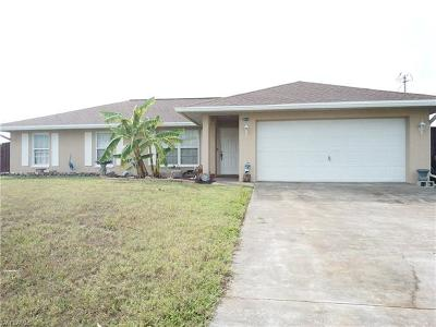 Cape Coral Single Family Home For Sale: 2512 SW 12th Ave