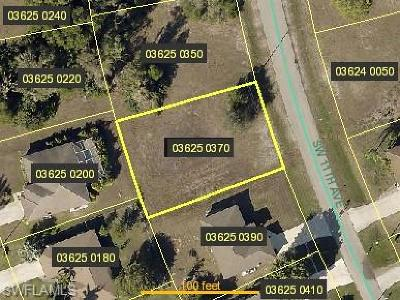 Cape Coral Residential Lots & Land For Sale: 214 SW 11th Ave