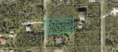 Bonita Springs Residential Lots & Land For Sale: 24411 Amarillo St
