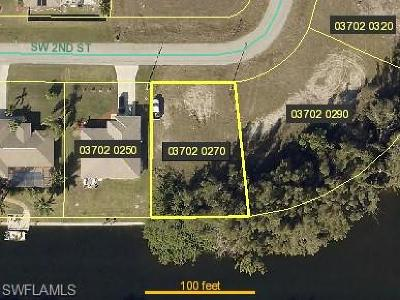 Cape Coral Residential Lots & Land For Sale: 1704 SW 2nd St