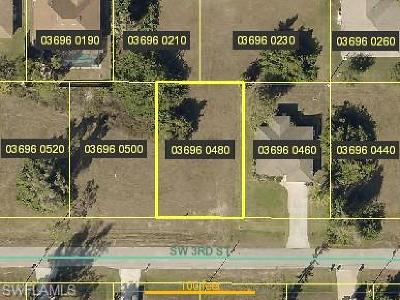 Cape Coral Residential Lots & Land For Sale: 1711 SW 3rd St