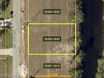 Cape Coral Residential Lots & Land For Sale: 235 SW 14th Ave