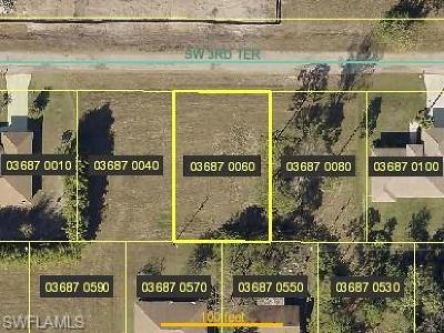 Cape Coral Residential Lots & Land For Sale: 2248 SW 3rd Ter