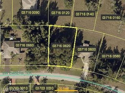 Cape Coral Residential Lots & Land For Sale: 1705 SW Embers Ter