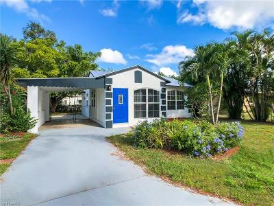 Fort Myers FL Single Family Home For Sale: $96,900