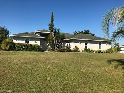 Lehigh Acres Single Family Home For Sale: 1023 Carl Ave