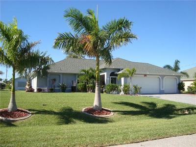 Cape Coral FL Single Family Home For Sale: $289,990