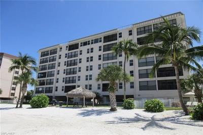Fort Myers Beach Condo/Townhouse For Sale: 7700 Estero Blvd #205