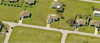 Cape Coral Single Family Home For Sale: 418 NE 20th Ter