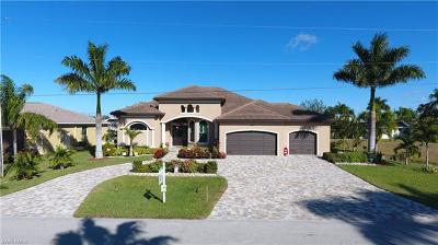 Cape Coral Single Family Home For Sale: 2509 SW 38th St