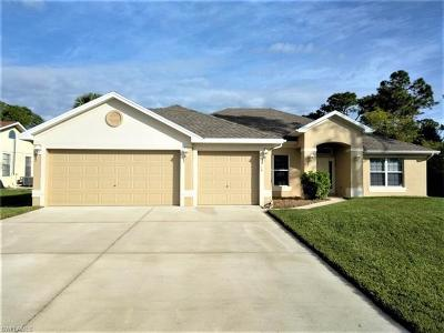 Lehigh Acres Single Family Home For Sale: 2814 9th St W