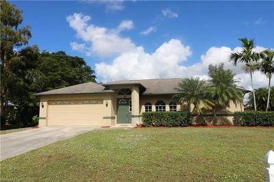 Fort Myers FL Single Family Home For Sale: $244,900